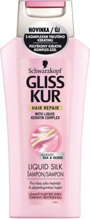 Gliss Kur vlasový šampón Liquid Silk 250 ml