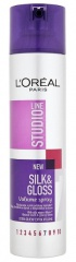 Loréal Paris Studio Line lak na vlasy Silk & Gloss Volume 250 ml