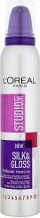 Loréal Paris Studio Line pěnové tužidlo na vlasy Silk & Gloss Volume 200 ml