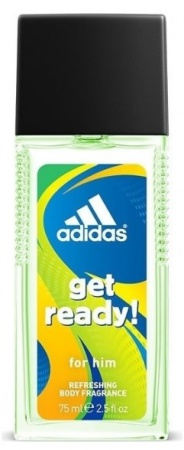 Adidas deospray ve skle Men Get Ready 75 ml
