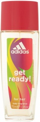 Adidas deospray ve skle Woman Get Ready 75 ml