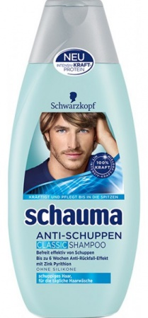 Schauma šampón na vlasy Men proti Lupům 400 ml