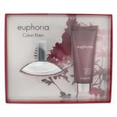Calvin Klein sada Euphoria Woman toaletní voda 30 ml+sprchový krém 100 ml