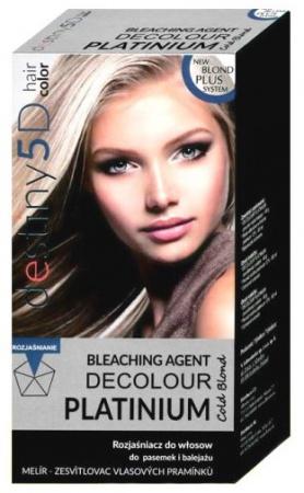 Destiny Platinium Decolour Exclusive melír Krabička 40 g + 80 ml