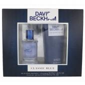 David Beckham Classic Blue toaletní voda 40 ml + sprchový gel 200 ml