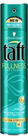 Taft lak na vlasy Fullness Ultra Strong 4 250 ml