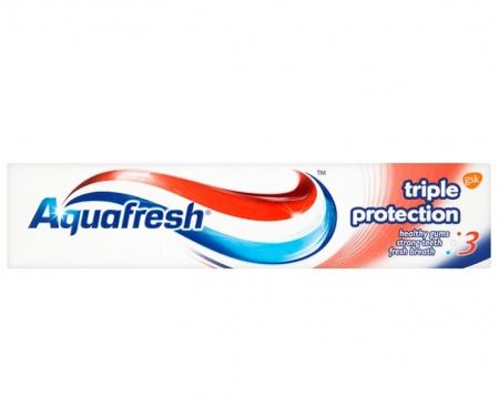 Aquafresh zubní pasta Triple Protection Fresh & Minty 75 ml