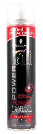 Taft lak na vlasy Power Koffein Mega Stark 400ml