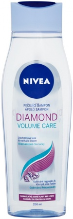 Nivea šampon Diamond Volume sensation 250 ml
