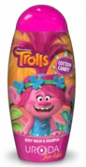 BI-ES sprchový gel 2v1 Trolls Branch 250 ml