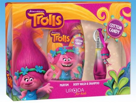 BI-ES sada Trolls parfém 15 ml+sprchový gel 250 ml