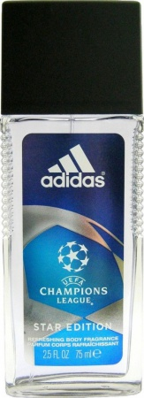 Adidas deospray ve skle Men Champions League 75 ml