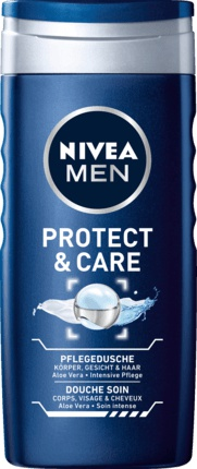 Nivea sprchový gel Men Protect & Care 250 ml