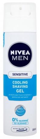 Nivea gel na holení Men Sensitive Cooling 200 ml