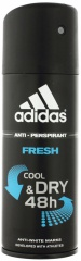 Adidas deospray Men antiperspirant Cool & Dry 48H Fresh 150 ml