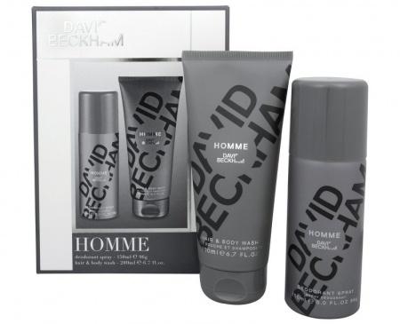 David Beckham Homme sada deodorant 150ml + sprchový gel 200 ml