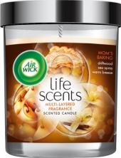 Airwick svíčka Life Scents - Maminčino cukroví 141 g