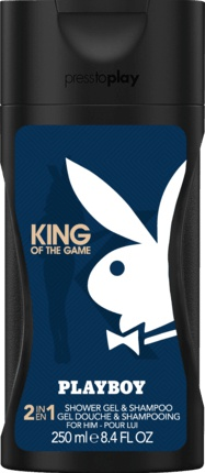 Playboy sprchový gel Men King Of The Game 250 ml
