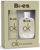 BI-ES sada OK For Everyone parfémovaná voda 100 ml+deospray 150 ml