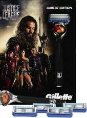 Gillette sada Fusion Proglide Flexball strojek + 4 náhradní břity
