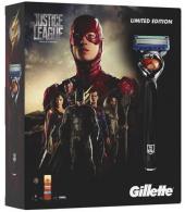 Gillette sada Fusion Proglide Flexball strojek +3 náhradní břity+gel na holení Fusion 75 ml