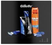 Gillette sada Fusion Proglide Styler strojek + 1 břity + Fusion gel na holení 200 ml