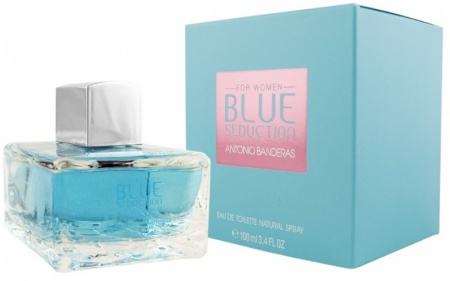 Antonio Banderas Blue Seduction Women 50 ml