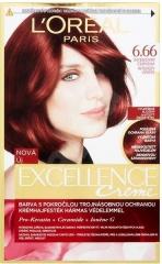 Loreal Paris Excellence Creme barva na vlasy 6.66 intenzivně červená
