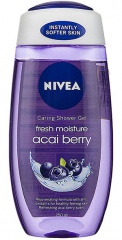 Nivea sprchový gel Fresh Acai Berry 250 ml
