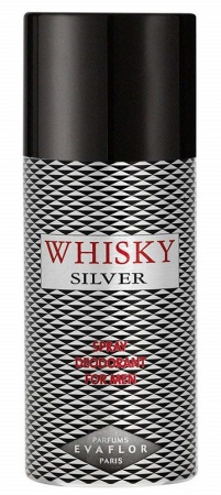 Whisky deospray Silver 150 ml