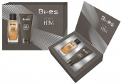 BI-ES sada MEN Im With HIM toaletní voda 100ml+sprchový gel 150ml
