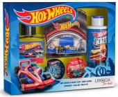 BI-ES sada Hot Wheels Win Formula EDT 50ml+sprchový gel 150ml+nálepky+autíčko