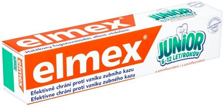 Elmex zubní pasta Junior 6+ 75 ml