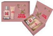 BI-ES sada Love Affair parfémovaná voda 100 ml+sprchový gel 150 ml