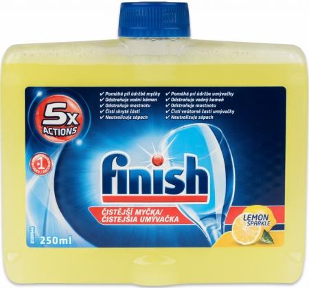 Finish čistič myčky Citron 250 ml
