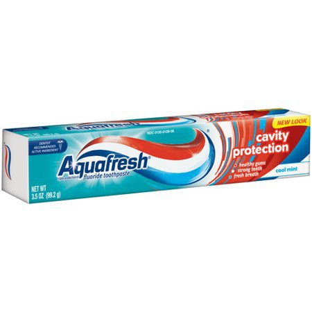 Aquafresh zubní pasta Triple Protection Menthol 75 ml