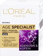 Loreal krém Age Specialist 55+ proti vráskám oční 15 ml