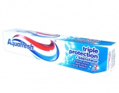 Aquafresh zubní pasta Triple Protection White 75 ml