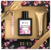 BI-ES sada Blossom Orchid EDP 100ml+parfém 12ml+sprchový gel 50ml