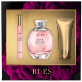 BI-ES sada Love Elixir EDP 100ml+parfém 12ml+sprchový gel 50ml