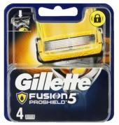 Gillette Fusion Proglide Proshield náhradní břity 4 ks