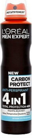 Loreal Men Expert deospray Carbon Protect 4in1 48h 150 ml
