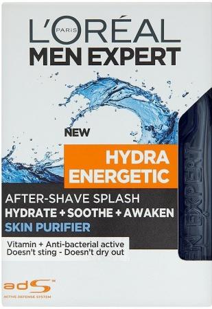 Loreal Men Expert voda po holení Hydra Energetic Skin Purifier 100 ml