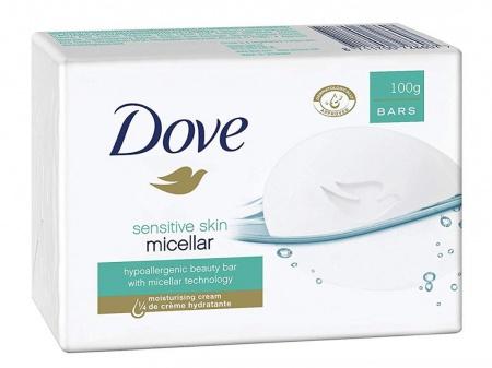 Dove tuhé mýdlo Sensitive Micelar 100 g