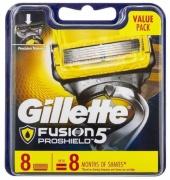 Gillette Fusion Proglide Proshield náhradní břity 8 ks
