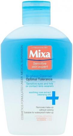Mixa Bi-phase Cleanser Optimal Tolerance odličovač očí 125 ml