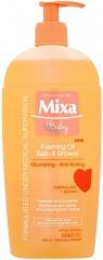 Mixa Baby pěnivý olej do sprchy i do koupele Foaming Oil 400 ml