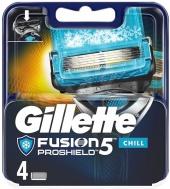 Gillette Fusion Proglide Proshield Chill náhradní břity 4 ks