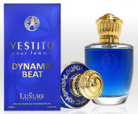 Luxure Vestito Dynamic Beat parfémovaná voda 100 mll - TESTER 50-70% obsah