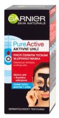 Garnier Pure Active slupovací maska proti černým tečkám s aktivním uhlím 50 ml